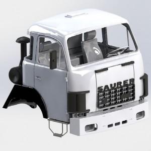 2-Achsen Fahrgestell 4X4...